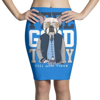Dog Feel Good Pencil Skirts Designed By Disgus_thing
