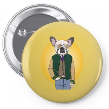 Funny Dog Pin-back Button Designed By Disgus_thing
