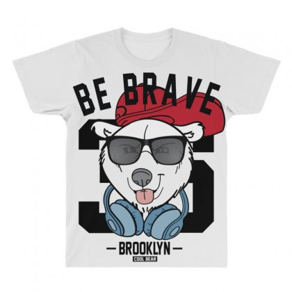 Cool Bear All Over Men's T-shirt Designed By Disgus_thing