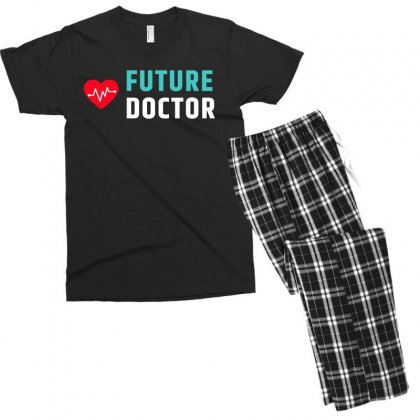 Future Doctor Men's T-shirt Pajama Set Designed By Cogentprint