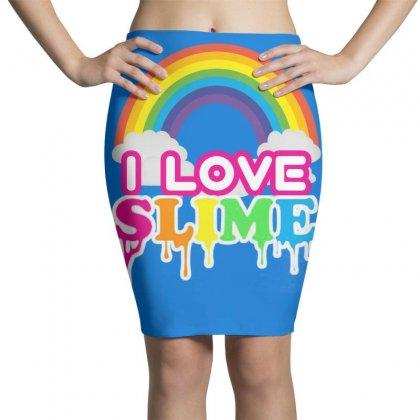 Just A Girl Who Loves Squishies And Slime Shirt Pencil Skirts Designed By Abdo_fas7ion
