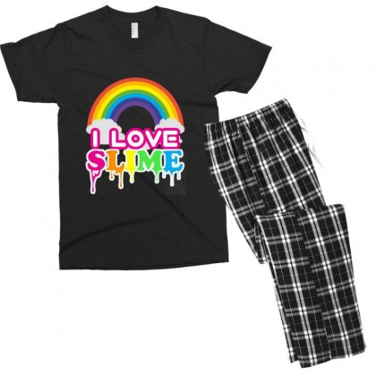 Just A Girl Who Loves Squishies And Slime Shirt Men's T-shirt Pajama Set Designed By Abdo_fas7ion