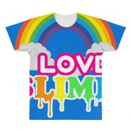 Just A Girl Who Loves Squishies And Slime Shirt All Over Men's T-shirt Designed By Abdo_fas7ion