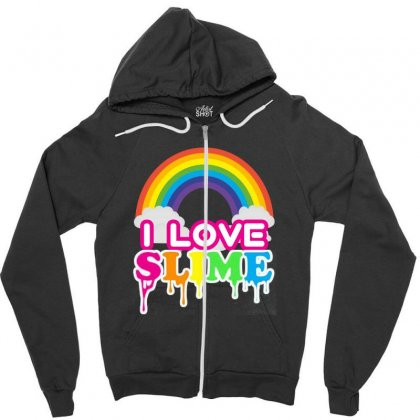 Just A Girl Who Loves Squishies And Slime Shirt Zipper Hoodie Designed By Abdo_fas7ion