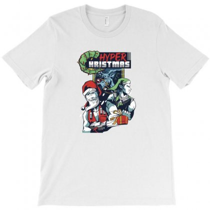 Hyper Hristmas T-shirt Designed By Disgus_thing