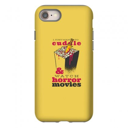 Horror Movies Iphone 8 Case Designed By Disgus_thing