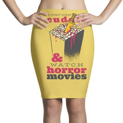 Horror Movies Pencil Skirts Designed By Disgus_thing