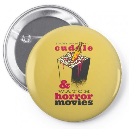 Horror Movies Pin-back Button Designed By Disgus_thing
