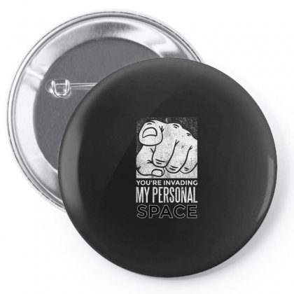 Personal Space Pin-back Button Designed By Disgus_thing