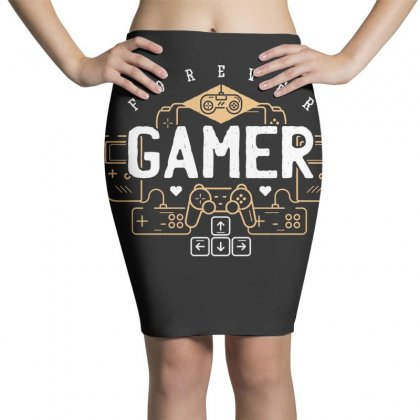 Fun Gamer Pencil Skirts Designed By Disgus_thing