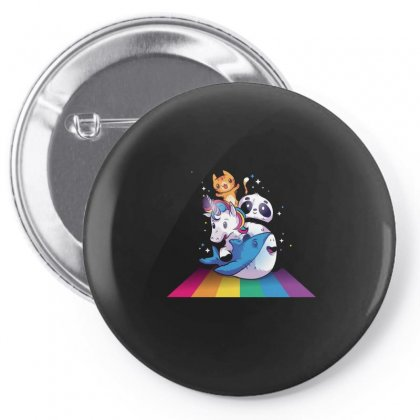 Unicorn Pin-back Button Designed By Disgus_thing