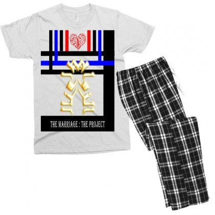 Mariage Men's T-shirt Pajama Set Designed By Nowlam