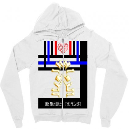 Mariage Zipper Hoodie Designed By Nowlam