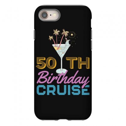 50th Birthday Cruise Iphone 8 Case Designed By Omer Acar