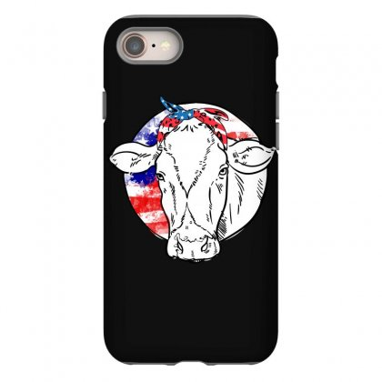 American Cow Iphone 8 Case Designed By Omer Acar