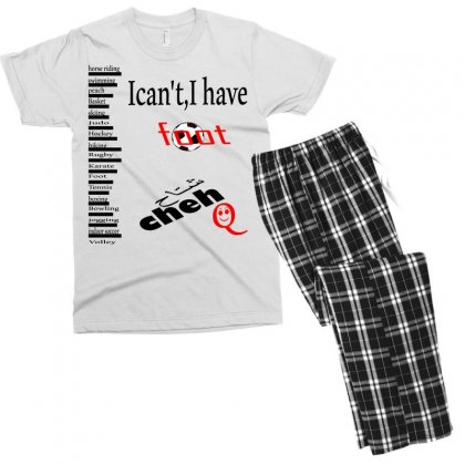 Foot Cheh Men's T-shirt Pajama Set Designed By Nowlam