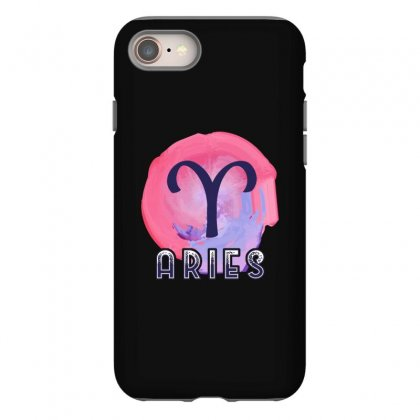 Aries Zodiac Iphone 8 Case Designed By Omer Acar
