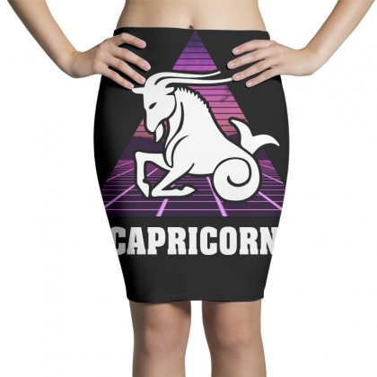 Capricorn Zodiac Pencil Skirts Designed By Omer Acar