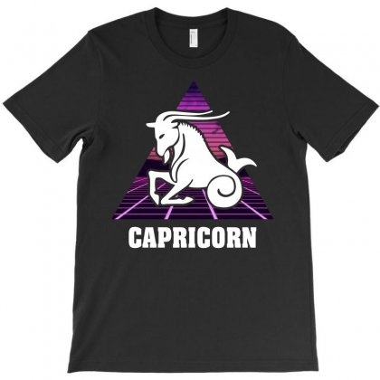 Capricorn Zodiac T-shirt Designed By Omer Acar