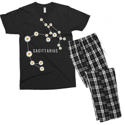 Sagittarius Zodiac Men's T-shirt Pajama Set Designed By Omer Acar