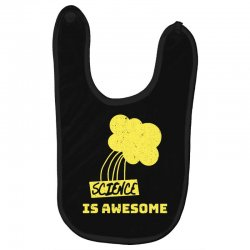 science is awesome Baby Bibs   Artistshot
