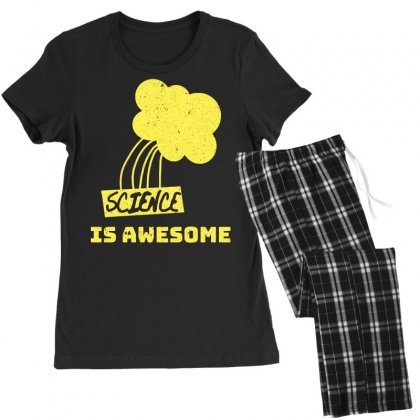 Science Is Awesome Women's Pajamas Set Designed By Omer Acar