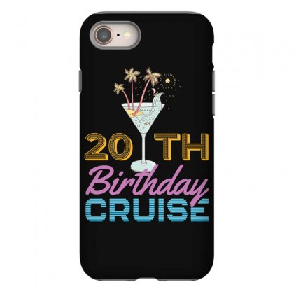 20th Birthday Cruise Iphone 8 Case Designed By Omer Acar