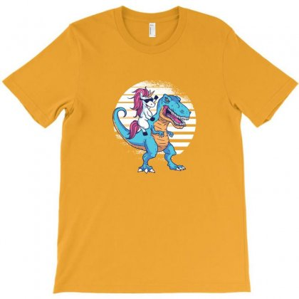 Unicorn T Rex T-shirt Designed By Disgus_thing