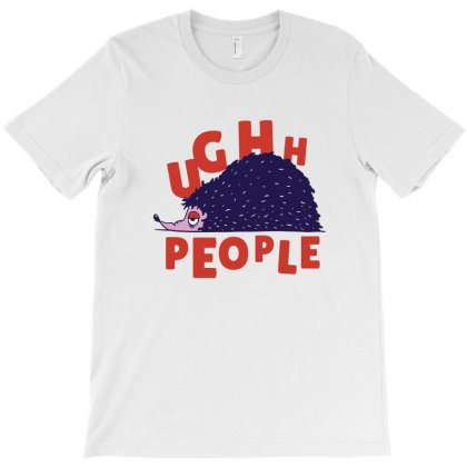 Ughh People T-shirt Designed By Disgus_thing