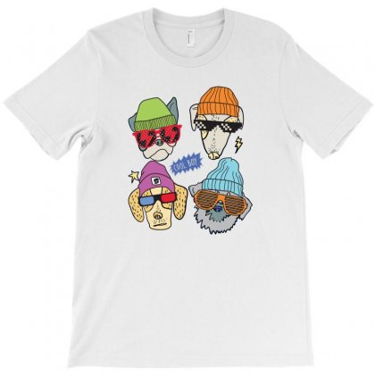 Dog Cool Boy T-shirt Designed By Disgus_thing