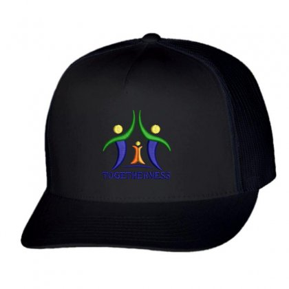 Togetherness Hat Trucker Cap Designed By Madhatter
