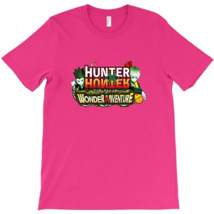 Hunter X Hunter Logo T-shirt Designed By Coolmarcell