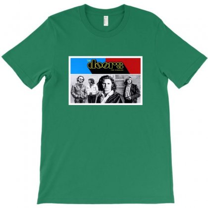 The Doors T-shirt Designed By Coolmarcell