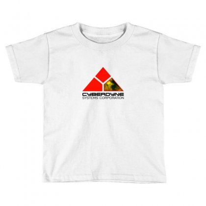 Terminator Cyberdyne Toddler T-shirt Designed By Neset