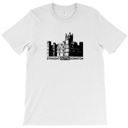 Straight Outta Downton For Light T-shirt Designed By Hasret