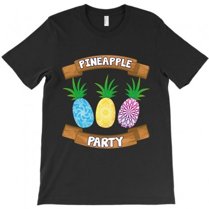 Pineapple Party T-shirt Designed By Wizarts
