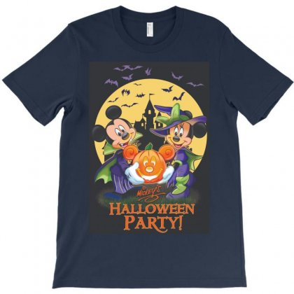 Mickey Holloween Party T-shirt Designed By Sabriacar