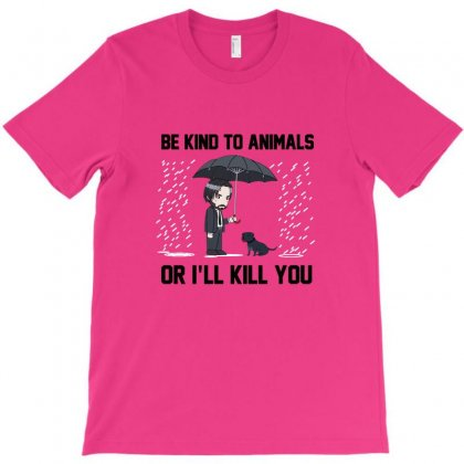 Be Kind To Animals T-shirt Designed By Irawan