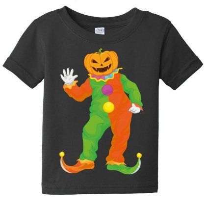 Pumpkin Baby Tee Designed By Wizarts