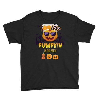 Coolest Pumkin In The Patch Youth Tee Designed By Wizarts