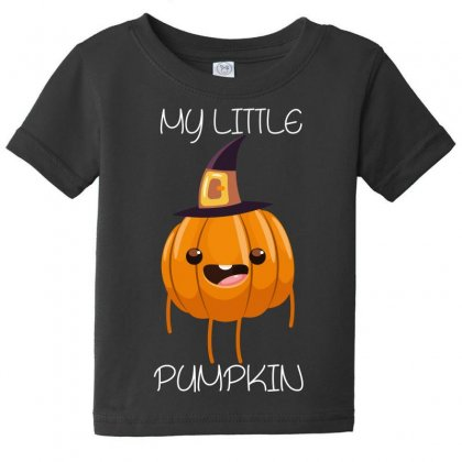 My Little Pumkin Baby Tee Designed By Wizarts