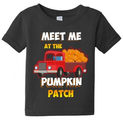 Meet Me At The Pumpkin Patch Baby Tee Designed By Wizarts