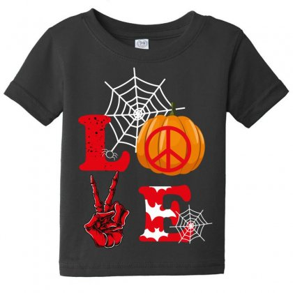 Love Pumpkin Baby Tee Designed By Wizarts