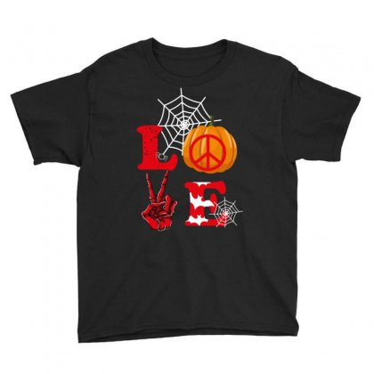 Love Pumpkin Youth Tee Designed By Wizarts