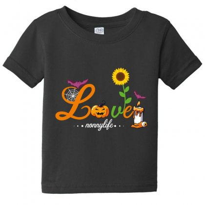 Love Nonnylife Baby Tee Designed By Wizarts