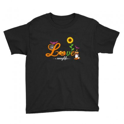 Love Nonnylife Youth Tee Designed By Wizarts