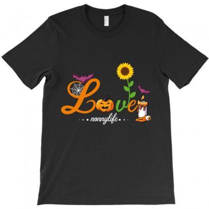 Love Nonnylife T-shirt Designed By Wizarts