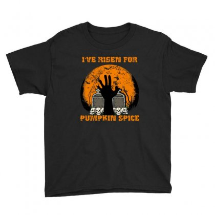 I've Risen For Pumpkin Spice Youth Tee Designed By Wizarts