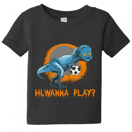 Hi, Wanna Play Baby Tee Designed By Wizarts