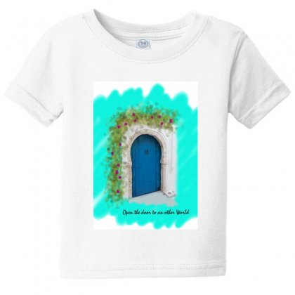 Typical Door 1 Baby Tee Designed By Butterfly